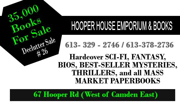 Hooper House Book Sale