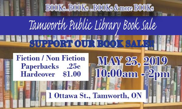 Tamworth Book Sale